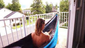 Hydro Hammock - хамак и гореща вана