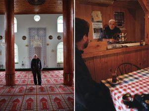 Уредникът на джамията в Долно Прахово с гордост ни я показа, а след това ни покани да пием чай и сподели с нас някои изключително любопитни факти от историята ѝ.