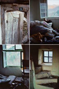 Детайли от изоставените къщи в село Дядовци
